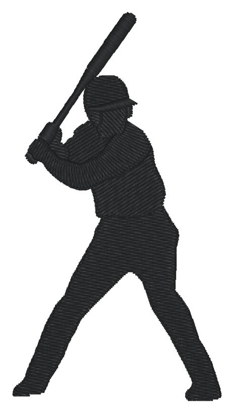 free clipart baseball player silhouette - photo #28