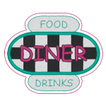 Restauraunt Embroidery Designs & Templates