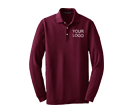 Custom Long Sleeve Polos