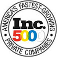 INC 5000 - America's Fastest Growing Private Companies - Three Years In A Row!
