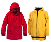 Custom Made Rain Jackets