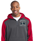 Custom Quarter Zip Wicking Sweatshirts