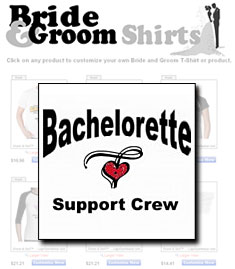 Bride & Groom Shirt Shop