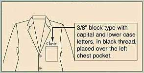 Medical Lab Coat Example Order
