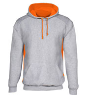 Custom Heavyweight Mens Colorblock Hooded Sweatshirt (18 Colors)