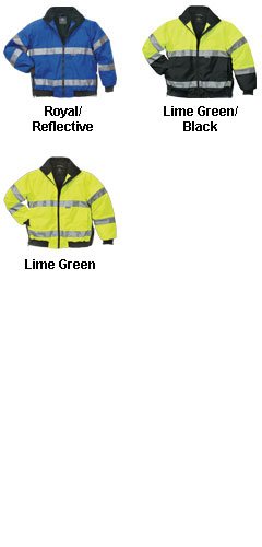 Signal Hi-Vis Jacket ANSI 3 Compliant by Charles River Apparel - All Colors