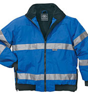 Signal Hi-Vis Jacket ANSI 3 Compliant by Charles River Apparel