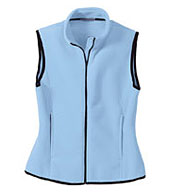 Custom Ladies Full-Zip Fleece Vest