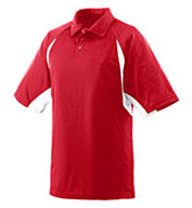 Wicking Textured Raglan Sleeve Sport Shirt (In 17 Team Colors)