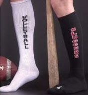 Custom Team Name with Custom Tube Socks Minimum order 24 pairs