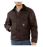 Sandstone Traditional Jacket - Arctic Quilt Lined