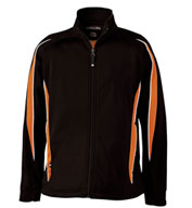 Custom Adult Tricot Knit Warm-up Cyclone Jacket Mens