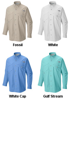 Columbia� Bonehead Longsleeve Fishing Shirt - All Colors