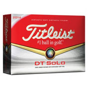 Custom Titleist DT SoLo Golf Ball