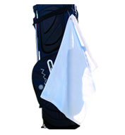 Custom Heavyweight Golf Towel  with Corner Grommet and Hook