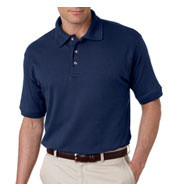 UltraClub Luxurious Egyptian Mens Cotton Polo