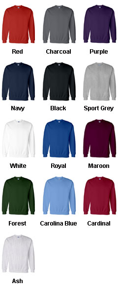 Gildan Adult  DryBlend� Crew Neck Sweatshirt - All Colors