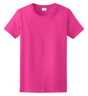 Custom Gildan Cotton Ladies T-shirt