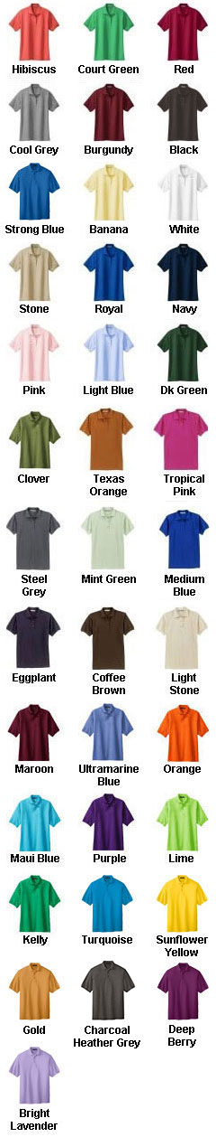 Mens Silk Touch Sport Shirt - All Colors