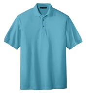 Custom Mens Silk Touch Sport Polo Shirt
