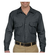 Dickies Mens Long Sleeve Twill Workshirt