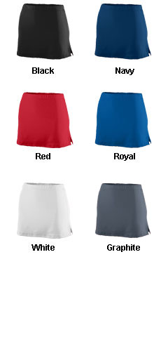Ladies Poly/Spandex Team Skort - All Colors