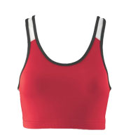 Girls Poly/Spandex Racerback Sports Bra