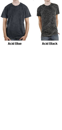 Alternative Apparel Mens 4.1 oz. Acid Wash Basic Crew - All Colors