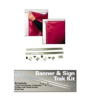 Banner And Sign Track Kit