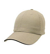 Custom Unconstructed Chino Washed Cotton Twill Sandwich Cap