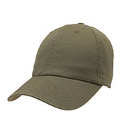 Custom Unconstructed Chino Washed Cotton Twill Baseball Cap