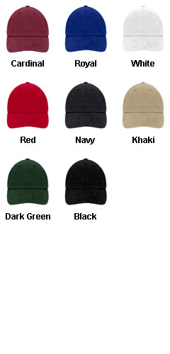 Unconstructed Heavy Brushed Cotton Cap - All Colors