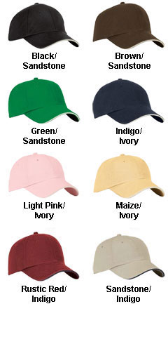 Bamboo Unconstructed Sandwich Bill Cap - All Colors