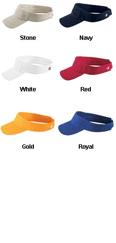 Champion Brushed Twill Athletic Visor - All Colors