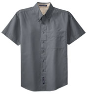 Men's Easy Care, Wrinkle Resistant Short Sleeve Shirts .