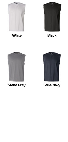 Champion Double Dry� Sleeveless Tee with Odor Resistance - All Colors