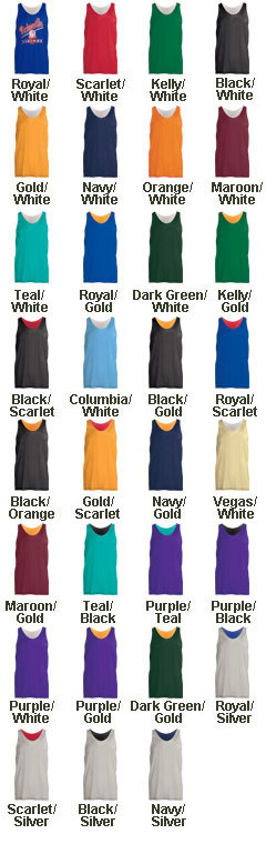 Custom Youth Mini Reversible Mesh Tank - All Colors