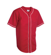 Youth Walk Off Baseball Jerseys with Sewn-On Braid
