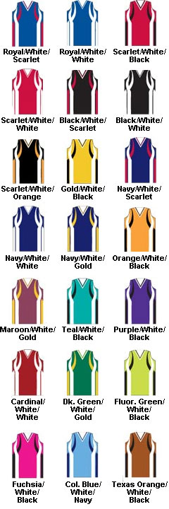 Girls Deluxe Racerback Softball Jersey - All Colors