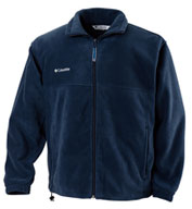 Custom Mens Columbia Fleece Full Zip Jacket Mens