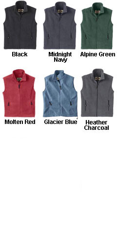 Mens North End Interactive Fleece Vest - All Colors