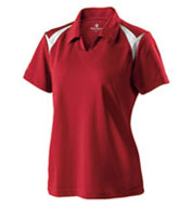 Custom Ladies Laser Coaches Polo by Holloway