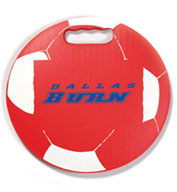 Soccer Round Ball Stadium Seat Cushions For Bleachers