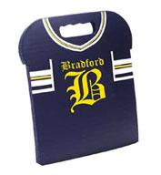 Football Jersey Stadium Seat Cushions For Bleachers