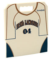 Custom Lacrosse Jersey Stadium Seat Cushions For Bleachers