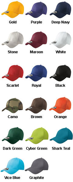 New Era® - Structured Stretch Cotton Cap - All Colors