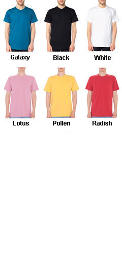 American Apparel Organic Cotton T-Shirt - All Colors