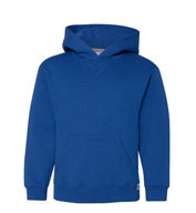 Youth Russell  Dri-power Fleece Pullover Hooded Sweatshirt