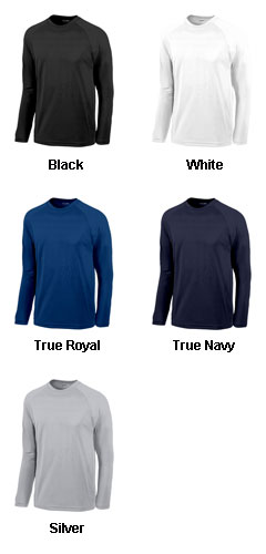 Sport-Tek® Wicking and Anti-Microbial Long Sleeve T-Shirt - All Colors