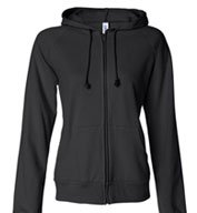 Bella Full Zip Hooded Sweatshirt